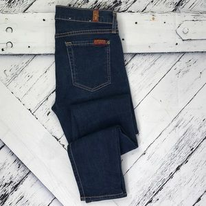 7 FOR ALL MANKIND The Skinny Jeans sz 26